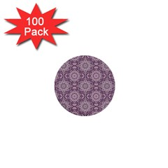 Oriental Pattern 1  Mini Buttons (100 Pack)  by ValentinaDesign
