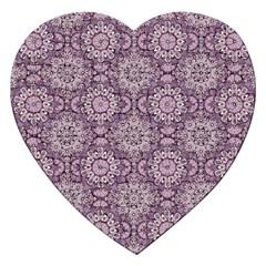 Oriental Pattern Jigsaw Puzzle (heart) by ValentinaDesign