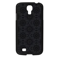 Oriental Pattern Samsung Galaxy S4 I9500/ I9505 Case (black) by ValentinaDesign