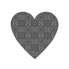 Oriental Pattern Heart Magnet by ValentinaDesign