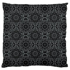 Oriental Pattern Large Cushion Case (one Side) by ValentinaDesign