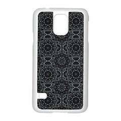 Oriental Pattern Samsung Galaxy S5 Case (white) by ValentinaDesign