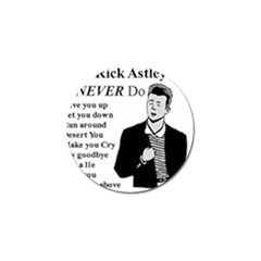 Rick Astley Golf Ball Marker (10 Pack) by Powwow