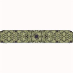 Stylized Modern Floral Design Small Bar Mats by dflcprints