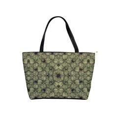Stylized Modern Floral Design Shoulder Handbags by dflcprints