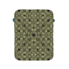 Stylized Modern Floral Design Apple Ipad 2/3/4 Protective Soft Cases by dflcprints