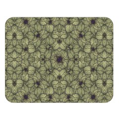 Stylized Modern Floral Design Double Sided Flano Blanket (large)  by dflcprints