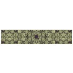 Stylized Modern Floral Design Flano Scarf (small) by dflcprints