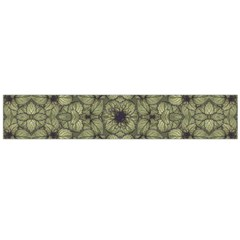 Stylized Modern Floral Design Flano Scarf (large) by dflcprints