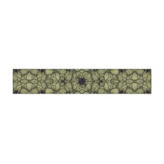 Stylized Modern Floral Design Flano Scarf (mini) by dflcprints
