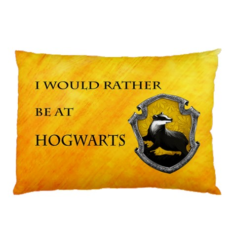 Hufflepuff Pillow Case By Filipe Santini   Pillow Case   Ol0aw0ucinah   Www Artscow Com 26.62 x18.9 Pillow Case