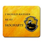 Hufflepuff mouse pad - Large Mousepad