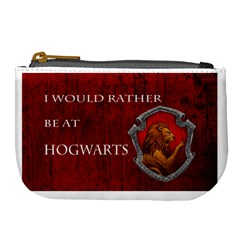 Gryffindor Coin Purse By Filipe Santini   Large Coin Purse   D9kpmtlxofhr   Www Artscow Com Front
