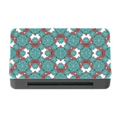 Colorful Geometric Graphic Floral Pattern Memory Card Reader With Cf by dflcprints