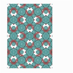 Colorful Geometric Graphic Floral Pattern Large Garden Flag (two Sides) by dflcprints