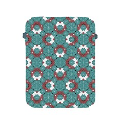 Colorful Geometric Graphic Floral Pattern Apple Ipad 2/3/4 Protective Soft Cases by dflcprints