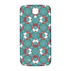 Colorful Geometric Graphic Floral Pattern Samsung Galaxy S4 I9500/i9505  Hardshell Back Case by dflcprints