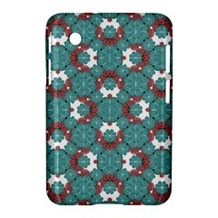Colorful Geometric Graphic Floral Pattern Samsung Galaxy Tab 2 (7 ) P3100 Hardshell Case  by dflcprints