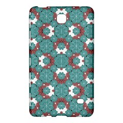 Colorful Geometric Graphic Floral Pattern Samsung Galaxy Tab 4 (8 ) Hardshell Case  by dflcprints