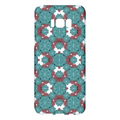 Colorful Geometric Graphic Floral Pattern Samsung Galaxy S8 Plus Hardshell Case