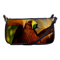 Birds Paradise Cendrawasih Shoulder Clutch Bags by Mariart