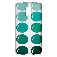 Bubbel Balloon Shades Teal Galaxy S5 Mini by Mariart