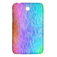 Aurora Rainbow Orange Pink Purple Blue Green Colorfull Samsung Galaxy Tab 3 (7 ) P3200 Hardshell Case  by Mariart