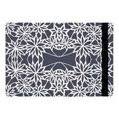 Blue White Lace Flower Floral Star Apple Ipad Pro 10 5   Flip Case by Mariart