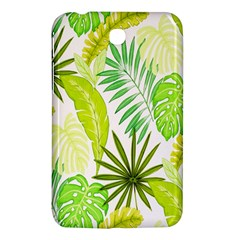 Amazon Forest Natural Green Yellow Leaf Samsung Galaxy Tab 3 (7 ) P3200 Hardshell Case  by Mariart