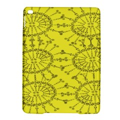 Yellow Flower Floral Circle Sexy Ipad Air 2 Hardshell Cases by Mariart