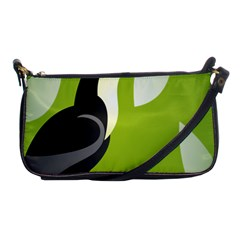 Cute Toucan Bird Cartoon Fly Yellow Green Black Animals Shoulder Clutch Bags by Mariart