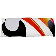 Cute Toucan Bird Cartoon Fly Body Pillow Case (dakimakura) by Mariart