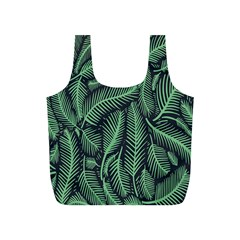 Coconut Leaves Summer Green Full Print Recycle Bags (s)  by Mariart