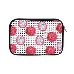 Fruit Patterns Bouffants Broken Hearts Dragon Polka Dots Red Black Apple Ipad Mini Zipper Cases by Mariart