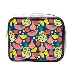 Fruit Pineapple Watermelon Orange Tomato Fruits Mini Toiletries Bags by Mariart