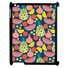 Fruit Pineapple Watermelon Orange Tomato Fruits Apple Ipad 2 Case (black) by Mariart