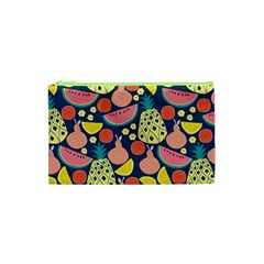 Fruit Pineapple Watermelon Orange Tomato Fruits Cosmetic Bag (xs) by Mariart