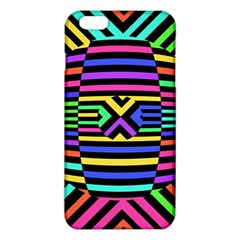 Optical Illusion Line Wave Chevron Rainbow Colorfull Iphone 6 Plus/6s Plus Tpu Case by Mariart