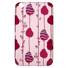 Original Tree Bird Leaf Flower Floral Pink Wave Chevron Blue Polka Dots Samsung Galaxy Tab 3 (8 ) T3100 Hardshell Case  by Mariart
