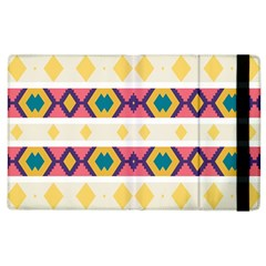 Rhombus And Stripes                      Kindle Fire (1st Gen) Flip Case by LalyLauraFLM