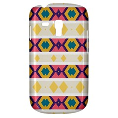 Rhombus And Stripes                      Samsung Galaxy Ace Plus S7500 Hardshell Case by LalyLauraFLM