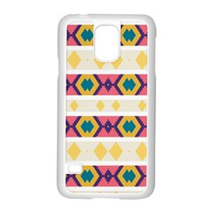 Rhombus And Stripes                      Motorola Moto G (1st Generation) Hardshell Case by LalyLauraFLM