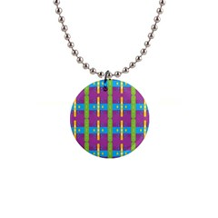 Stripes And Dots                           1  Button Necklace by LalyLauraFLM