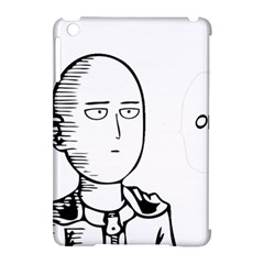 Saitama Apple Ipad Mini Hardshell Case (compatible With Smart Cover) by quirogaart