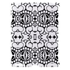 Psychedelic Pattern Flower Crown Black Flower Apple Ipad 3/4 Hardshell Case (compatible With Smart Cover) by Mariart