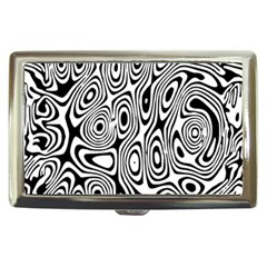 Psychedelic Zebra Black White Cigarette Money Cases by Mariart