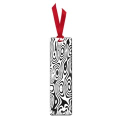 Psychedelic Zebra Black White Small Book Marks by Mariart