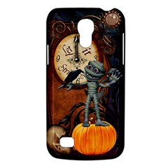 Funny Mummy With Skulls, Crow And Pumpkin Galaxy S4 Mini by FantasyWorld7