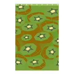 Relativity Pattern Moon Star Polka Dots Green Space Shower Curtain 48  X 72  (small)  by Mariart