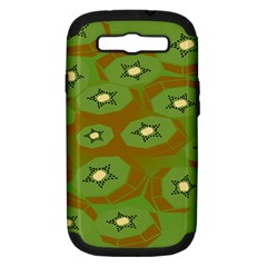 Relativity Pattern Moon Star Polka Dots Green Space Samsung Galaxy S Iii Hardshell Case (pc+silicone) by Mariart